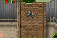 Tom Clancy's Splinter Cell: Pandora Tomorrow Game Boy Advance Abseiling