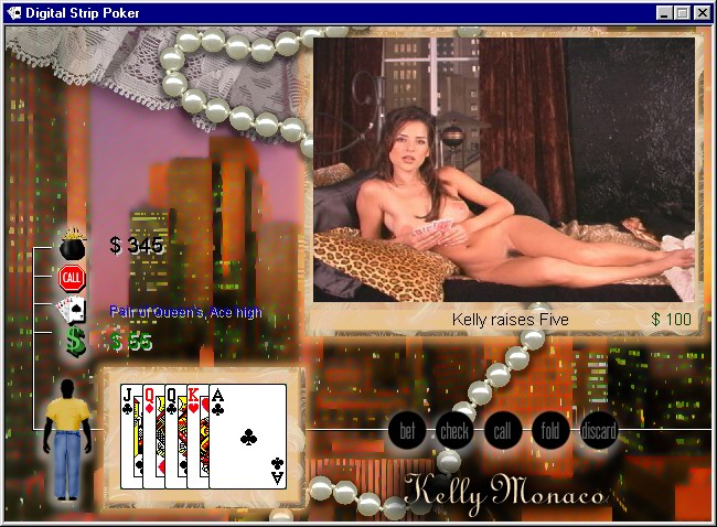 Kelly moanco strip poker