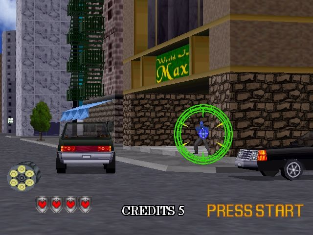 Virtua Cop 2 Windows Demonstration