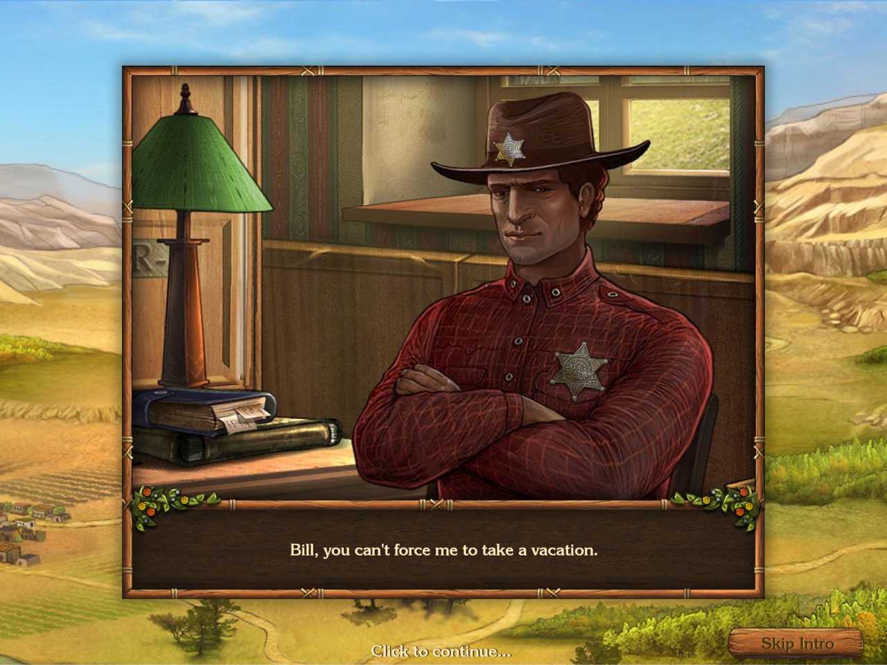 Golden Trails: The New Western Rush Windows Sheriff Jack