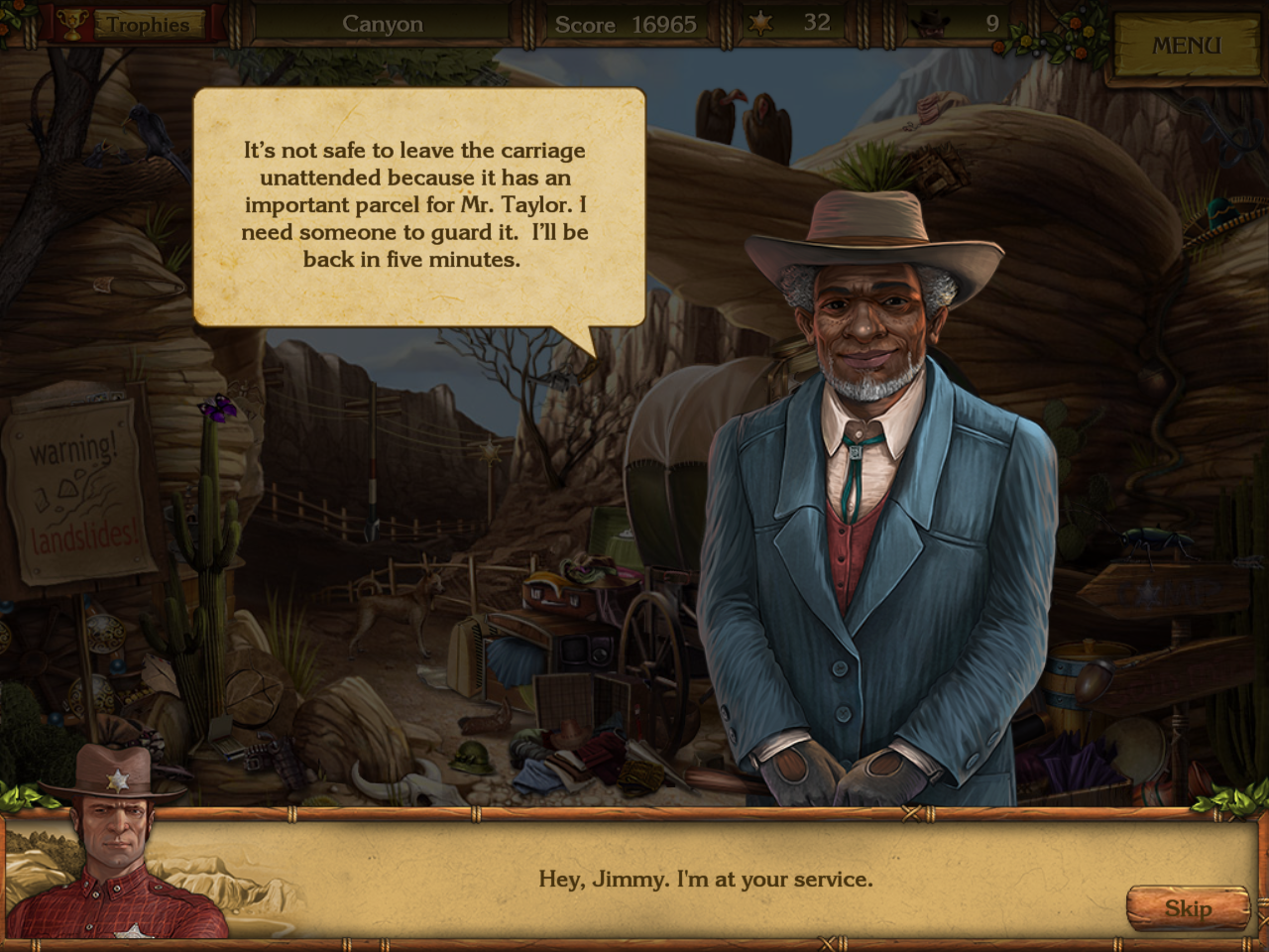 Golden Trails: The New Western Rush Windows Jimmy the coachman