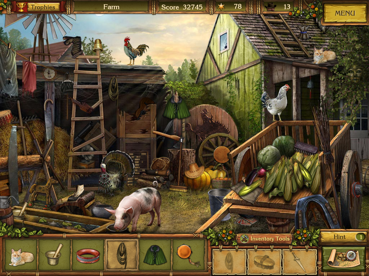 Golden Trails: The New Western Rush Windows Farm
