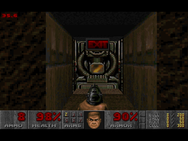 DOOM II Macintosh Exit level