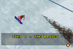 Shaun Palmer's Pro Snowboarder Game Boy Advance There is a tutorial available, but you may choose to start the game without going through it.