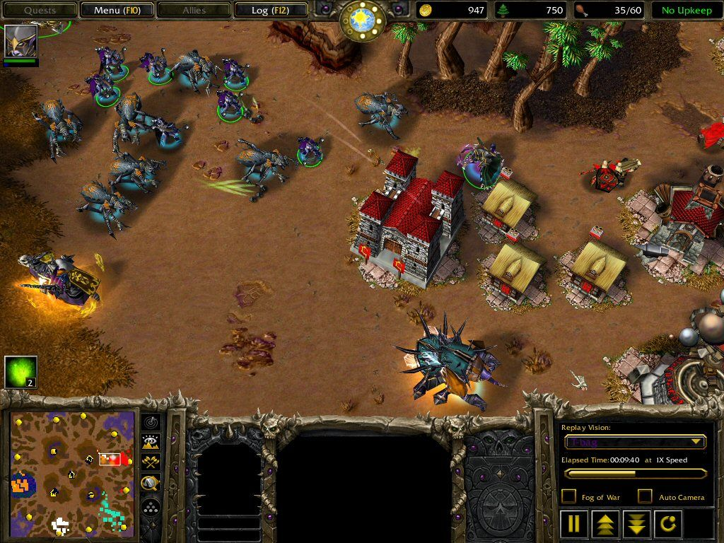 warcraft iii the frozen throne screenshots for windows mobygames