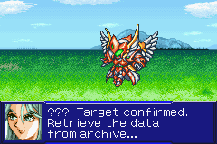 Super Robot Taisen: Original Generation 2 Game Boy Advance Fights are shown with animations and dialogue.