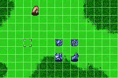 Super Robot Taisen: Original Generation 2 Game Boy Advance Now we control the original mech and the four new units.
