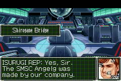 Super Robot Taisen: Original Generation 2 Game Boy Advance Cut scene: Discussion with a CEO of a weapon manufacturer.