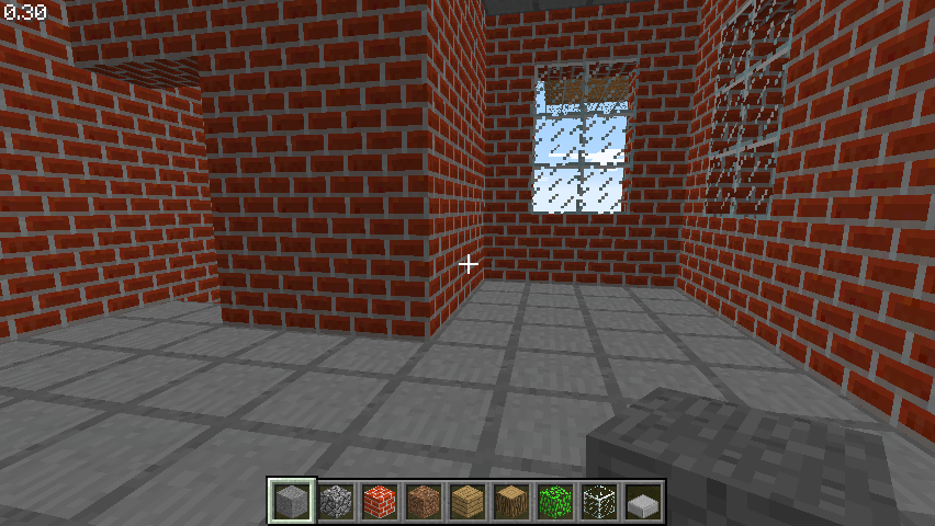 Minecraft Classic Browser Brick house