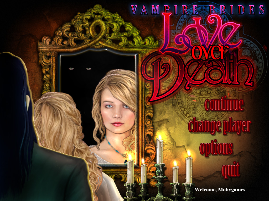 Vampire Brides: Love Over Death Windows Main menu
