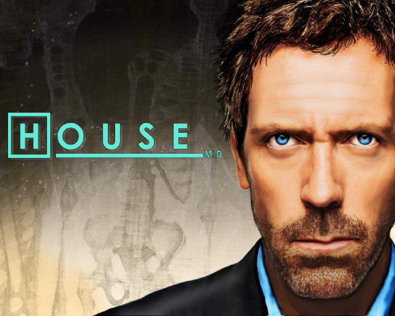 House M.D. (Collector's Edition) Windows Title screen