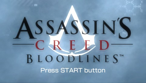 Assassin's Creed: Bloodlines PSP Title screen