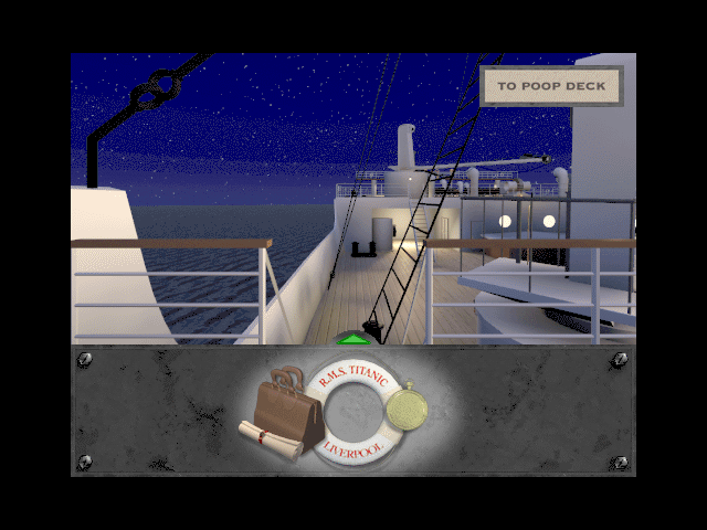 Titanic: Adventure Out of Time Macintosh The Poop Deck