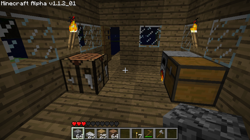 Minecraft Windows My first home.