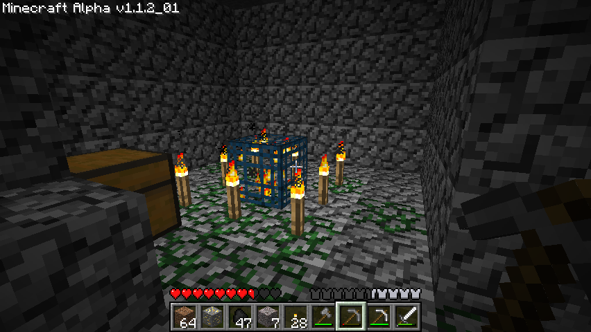 Minecraft Windows Placing enough lights prevents them from spawning.