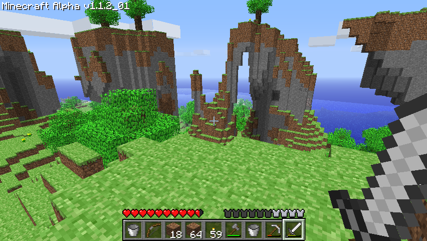 Minecraft Windows Monument Valley? It's greener than I remember!