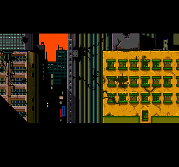 Double Dragon II: The Revenge TurboGrafx CD Nice cut scene between missions
