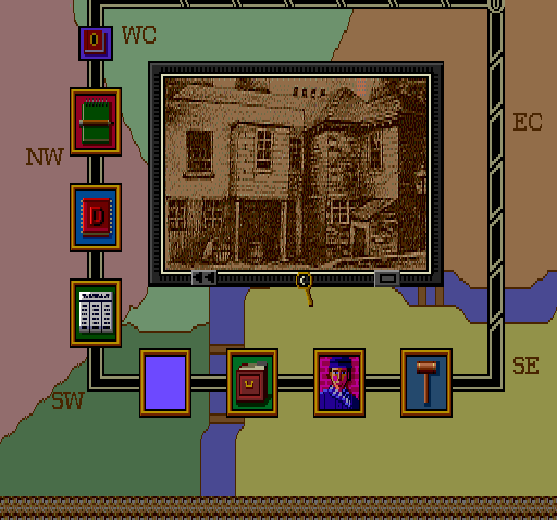 Sherlock Holmes: Consulting Detective TurboGrafx CD You can just visit people you don't know. Hang in front of their house. Maybe smoke a joint or two, I don't know