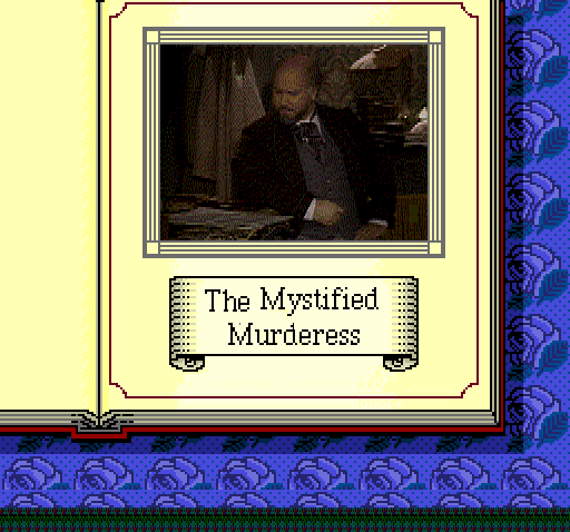 Sherlock Holmes: Consulting Detective TurboGrafx CD Mystified Murderess case intro