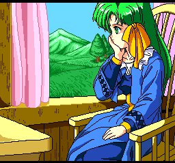 Dragon Slayer: The Legend of Heroes II TurboGrafx CD Don't worry, girl. RPG hero is coming!..