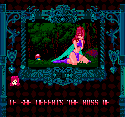 Fantastic Night Dreams: Cotton TurboGrafx CD ...especially when she looks like this? :) Despite the female protagonists, this game surely has male audience in mind :)