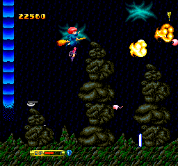 Fantastic Night Dreams: Cotton TurboGrafx CD This level has nice backgrounds. Shooting at those guys with fire