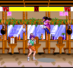 Advanced V.G. TurboGrafx CD Now, girls, behave well. Look at those nice backgrounds
