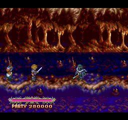The Legend of Xanadu II TurboGrafx CD Long conversation ensues. Come on, let's just skip it and get to the battle