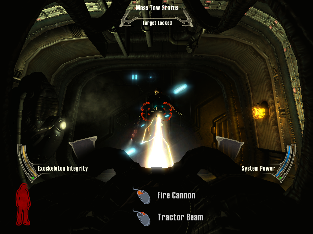 Prey Linux You can use a tractor beam as well... what evil shall I do today?