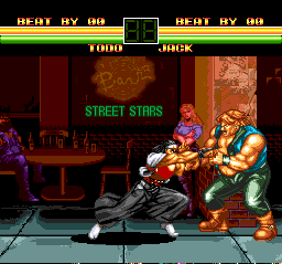 Art of Fighting TurboGrafx CD Meanwhile, Todo decides to take on jack in his own bar...
