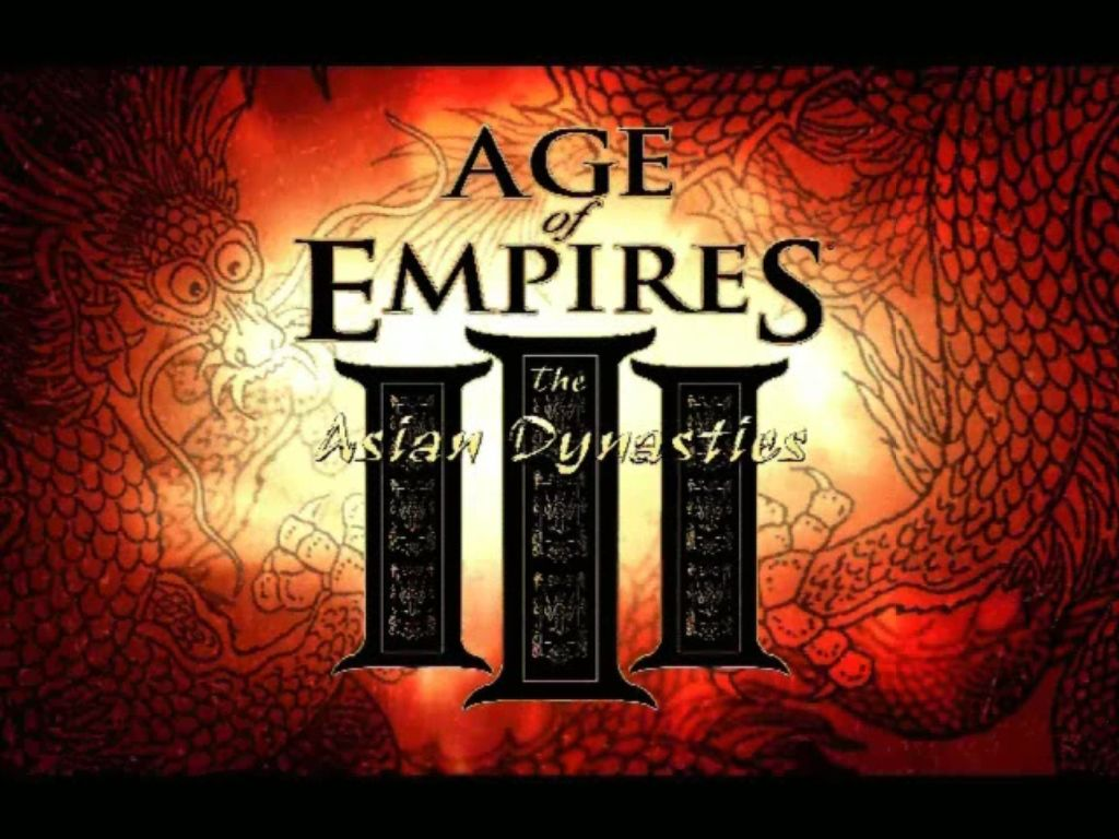 Age of Empires III: The Asian Dynasties Windows Title shown in intro sequence