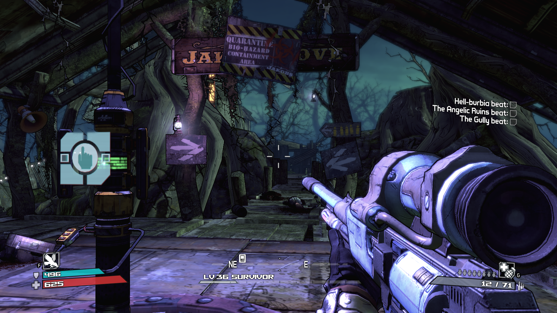 Borderlands: The Zombie Island of Dr. Ned Windows Where you start off