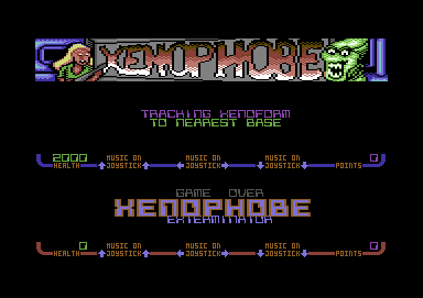 Xenophobe Commodore 64 Get ready