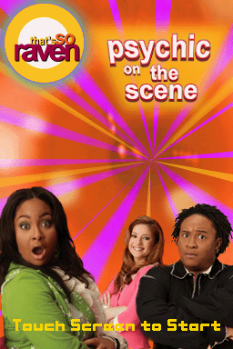 That's So Raven: Psychic on the Scene Nintendo DS Title screen.