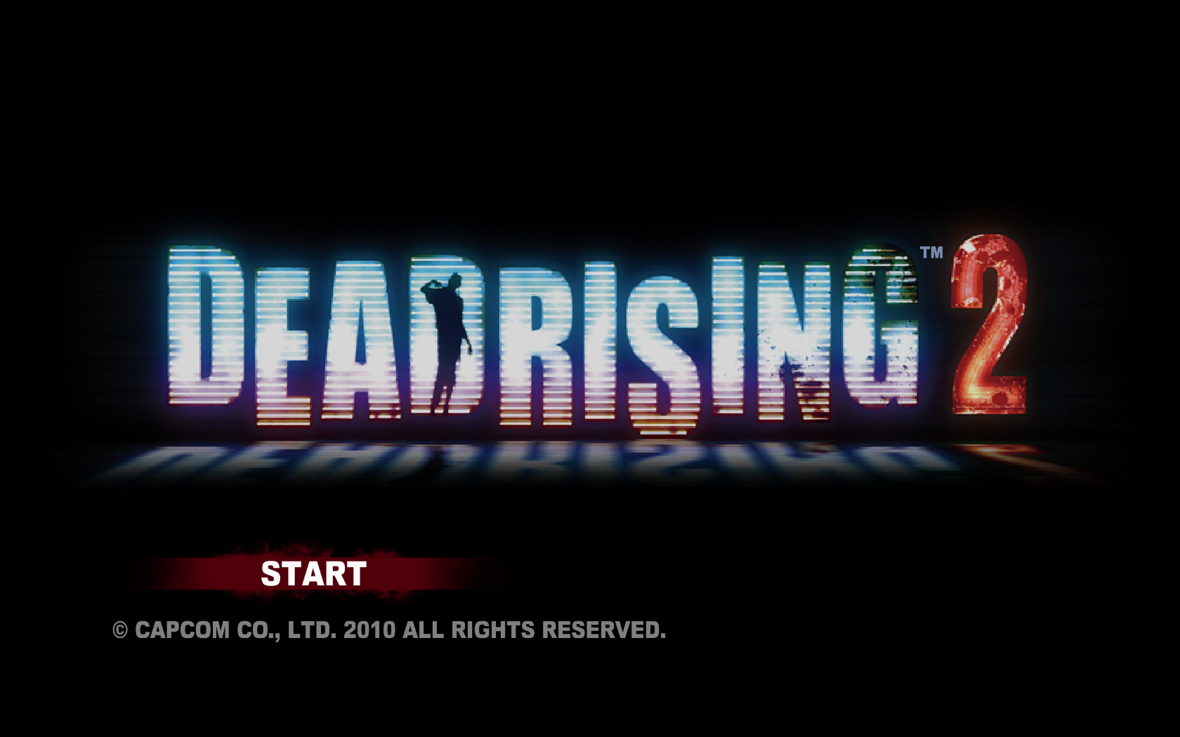 Dead Rising 2 Windows Title Screen