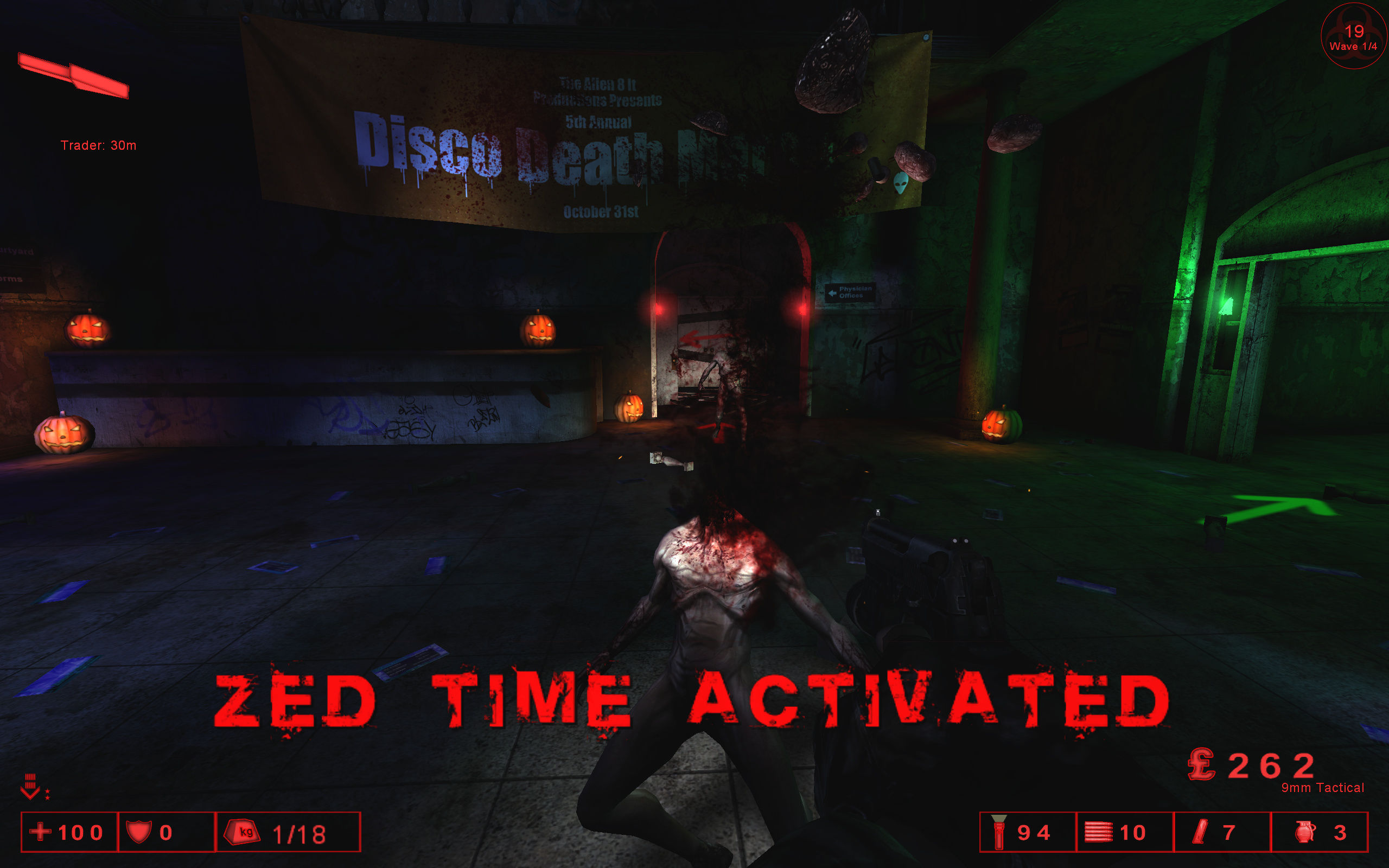 Killing Floor Windows ZED Time!