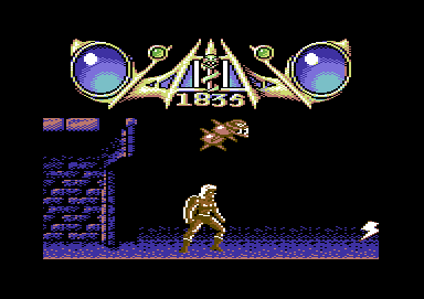 Savage Commodore 64 The second boss fight