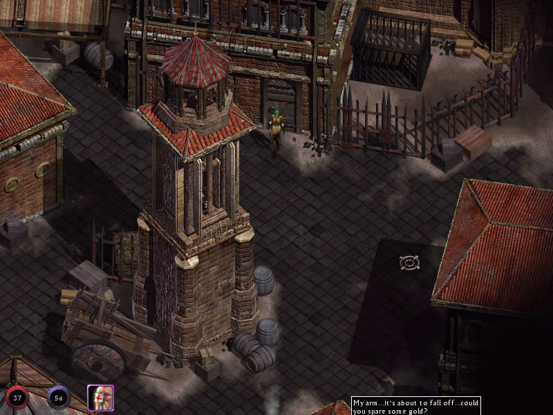 Lionheart: Legacy of the Crusader Windows About to lockpick a door in the city