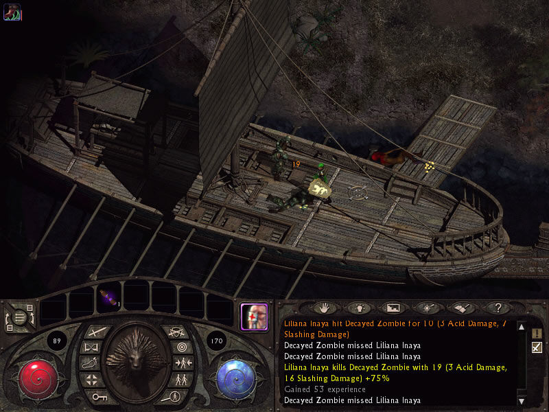 Lionheart: Legacy of the Crusader Windows Looting an abandoned ship