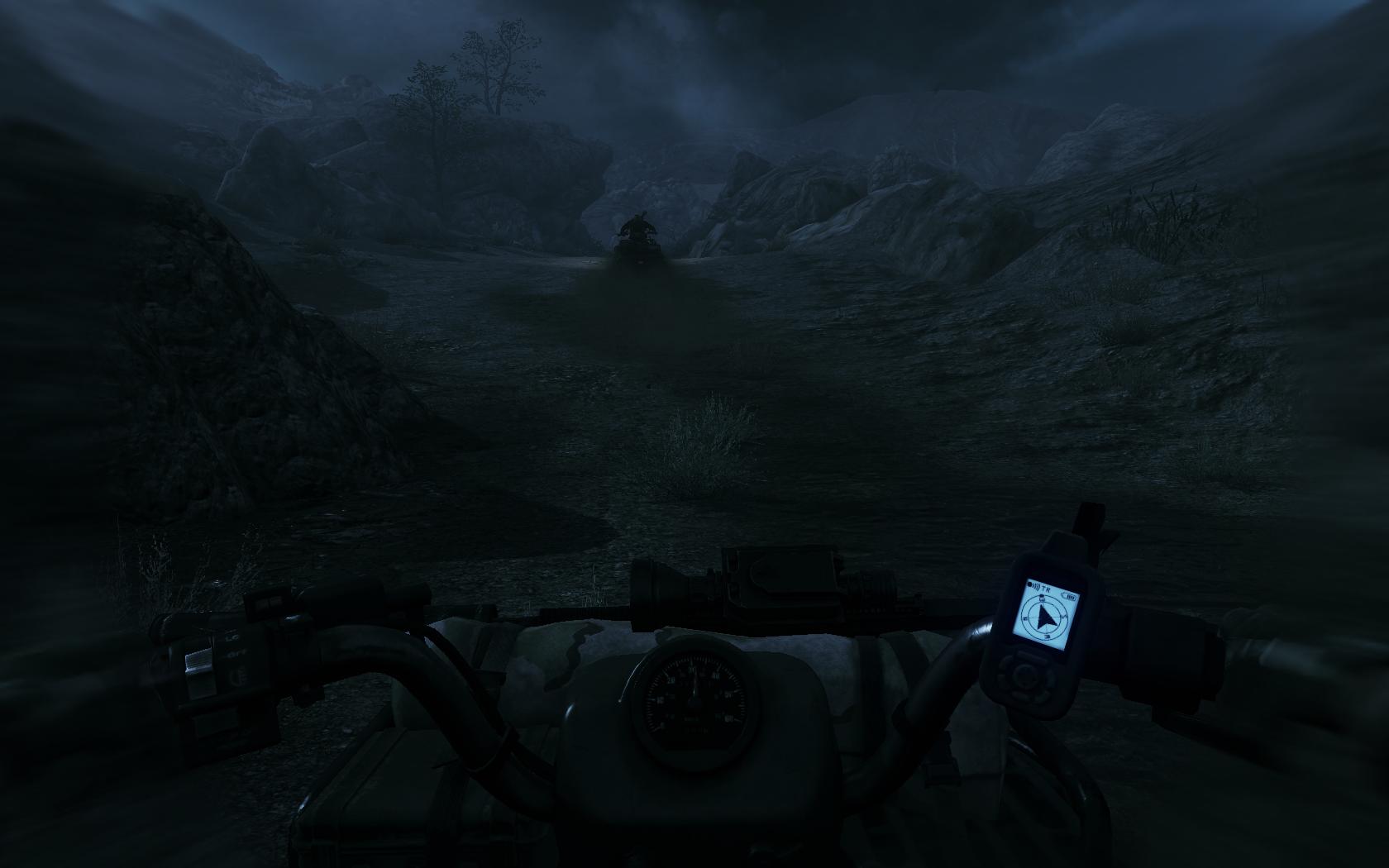 Medal of Honor Windows And they use quad bikes to move through the uneven terrain