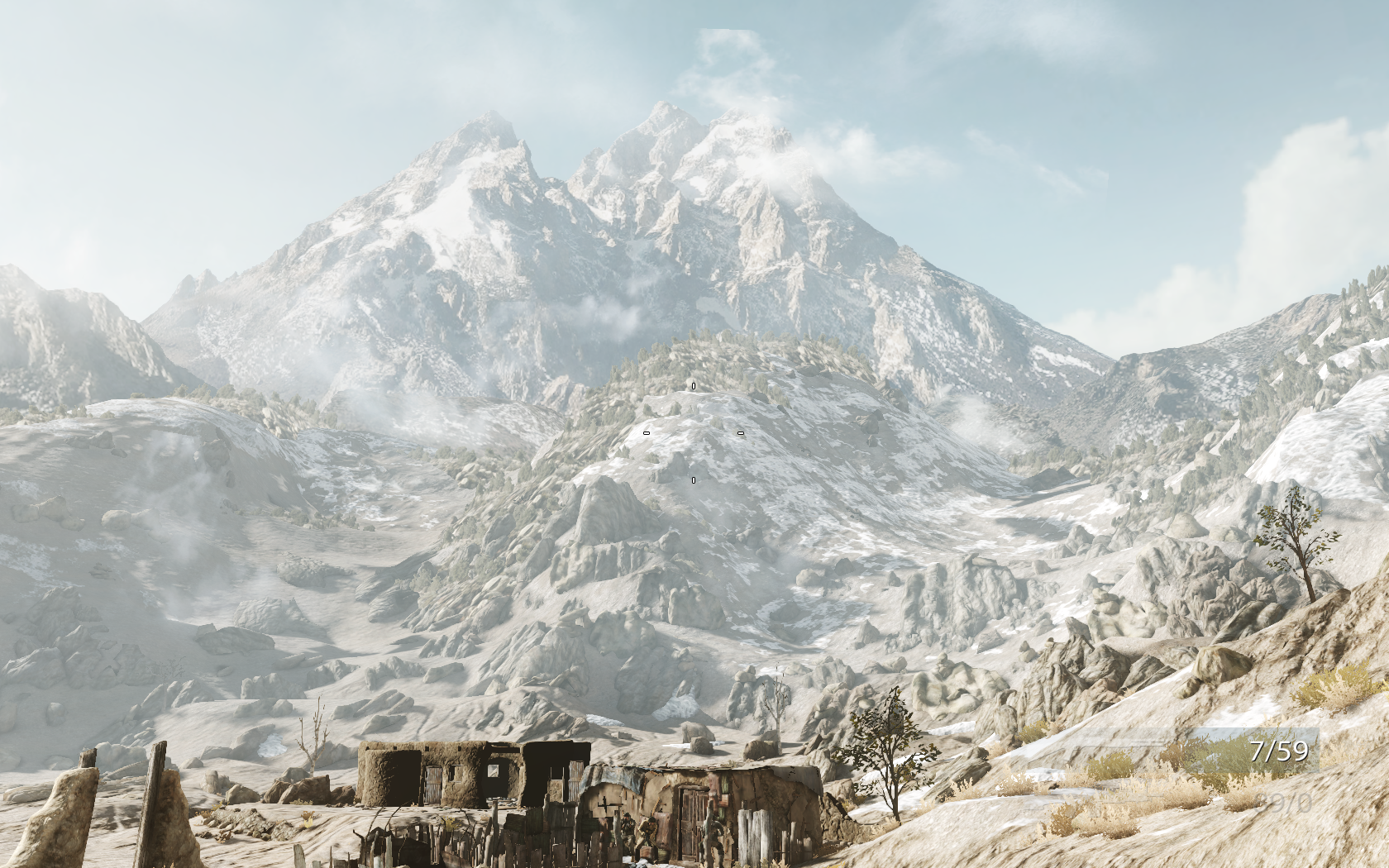 Medal of Honor Windows The mountains in this game can be breathtaking
