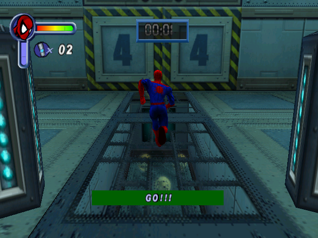 Spider-Man Windows Our hero has the heavy burden of collecting medallions in the Item Collection training mode.