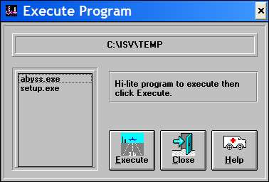 10 Tons of Games: Mega Collection 1 Windows The EXECUTE option on the right of the main menu allows the player to run any of the program files for the selected game.