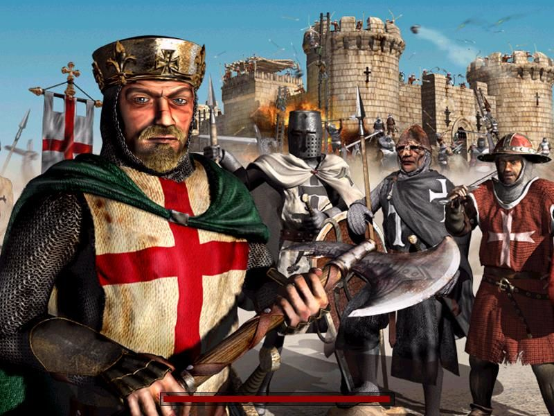FireFly Studios' Stronghold Crusader Windows Loading