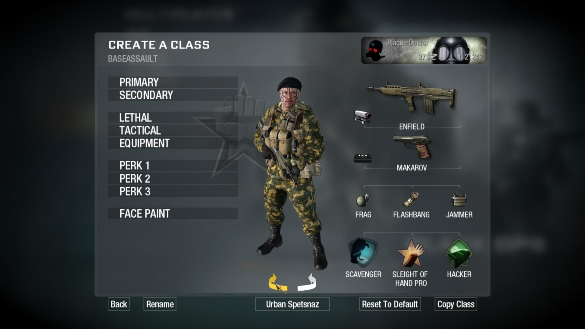 Call Of Duty Black Ops Windows Editing My MP Character His Appearance Is Customizable