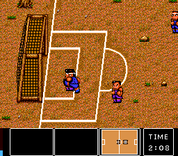 Nintendo World Cup TurboGrafx CD Too late, goalie. It's a GOAL!..