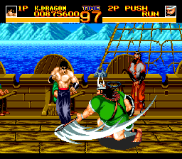 World Heroes 2 TurboGrafx CD Hey, come on, that's not fair. You are 80 kilos heavier, and also have an axe, while I am unarmed?...
