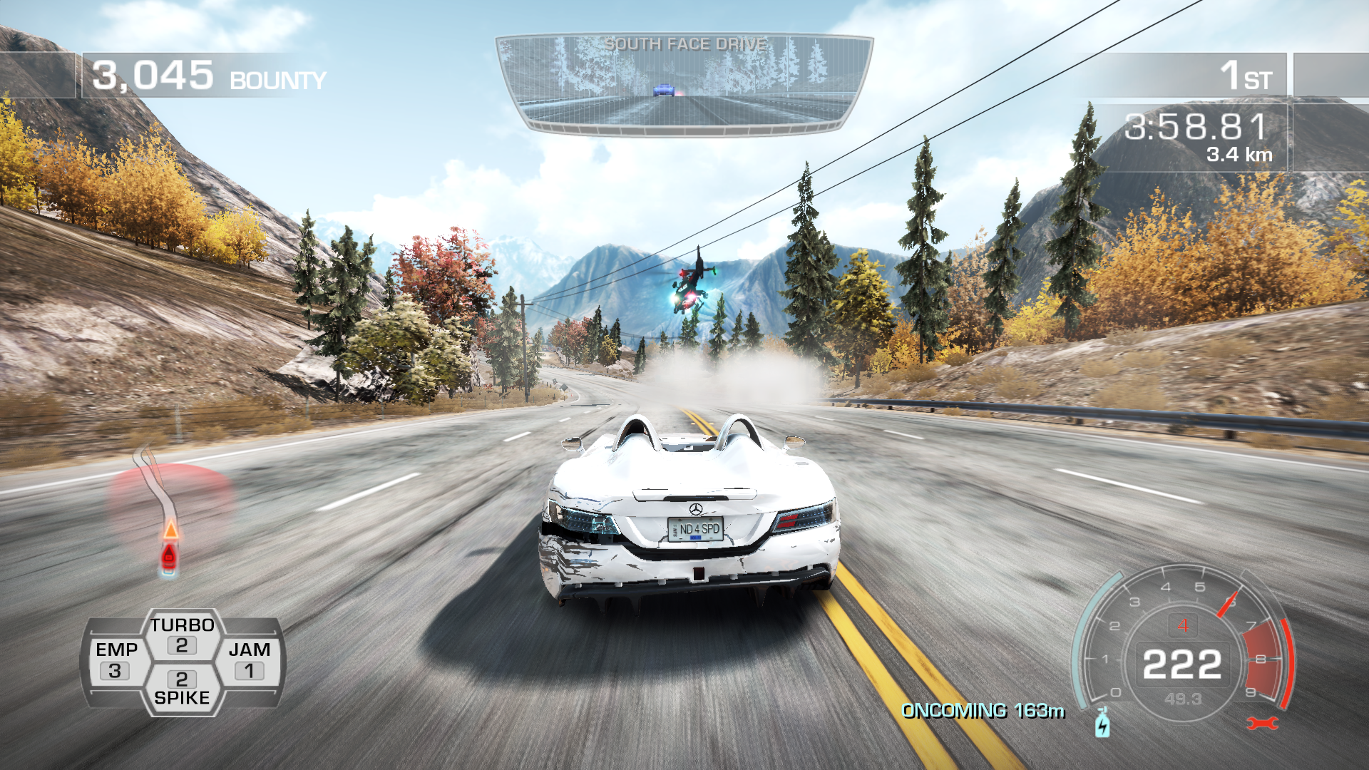 Need for Speed: Hot Pursuit Windows The helicopters are really annoying.
