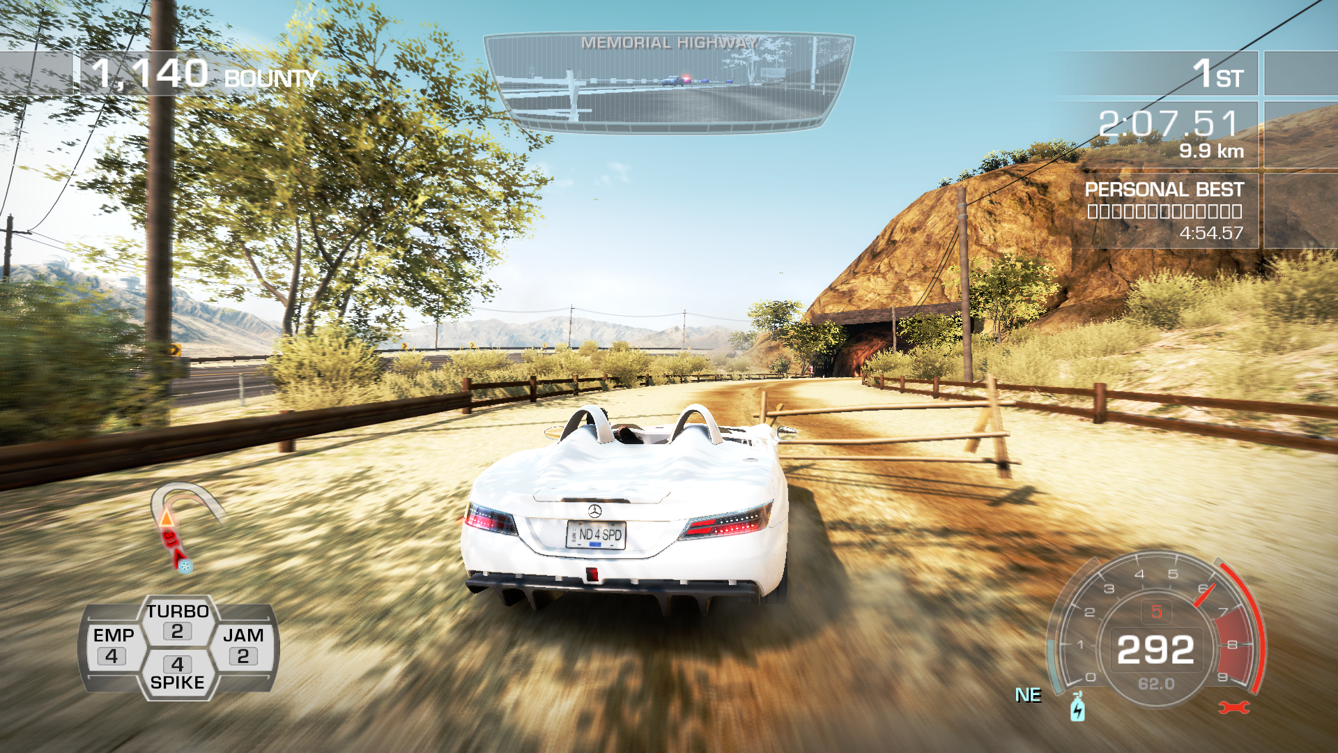 Need for Speed: Hot Pursuit Windows Seems like a shortcut.