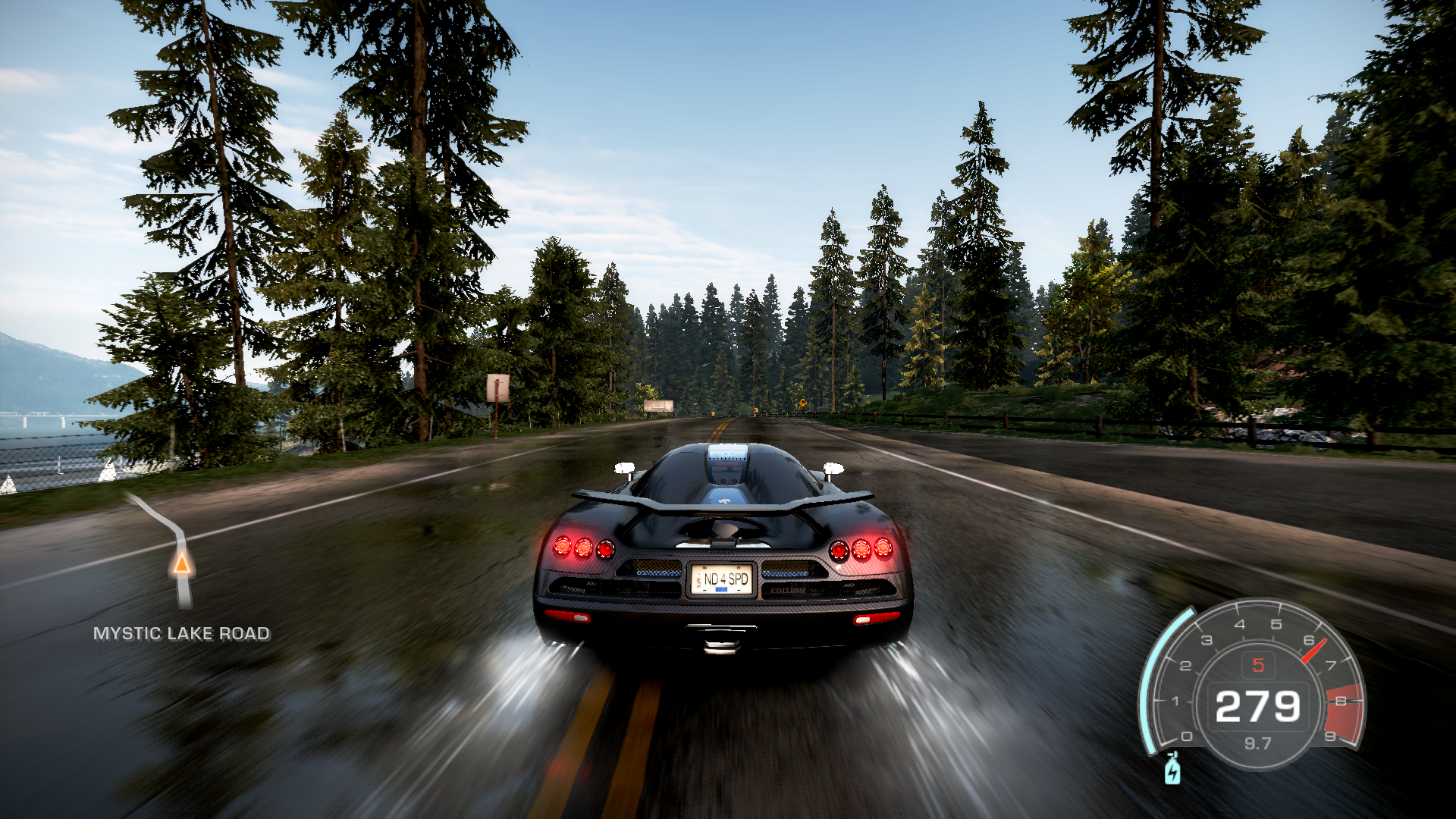 Need for Speed: Hot Pursuit Windows Alone in the woods.